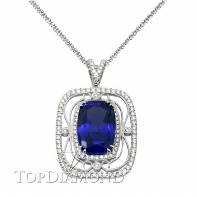 TP225. Simon G TP225 Gemstone Pendant- $1000 GIFT CARD INCLUDED WITH PURCHASE, Pendants. Collection. Top Diamonds & Jewelry