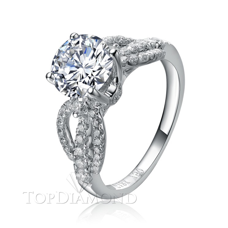 B2805. Diamond Engagement Ring Setting Style B2805, Diamond Accented. Engagement Ring Settings. Top Diamonds & Jewelry