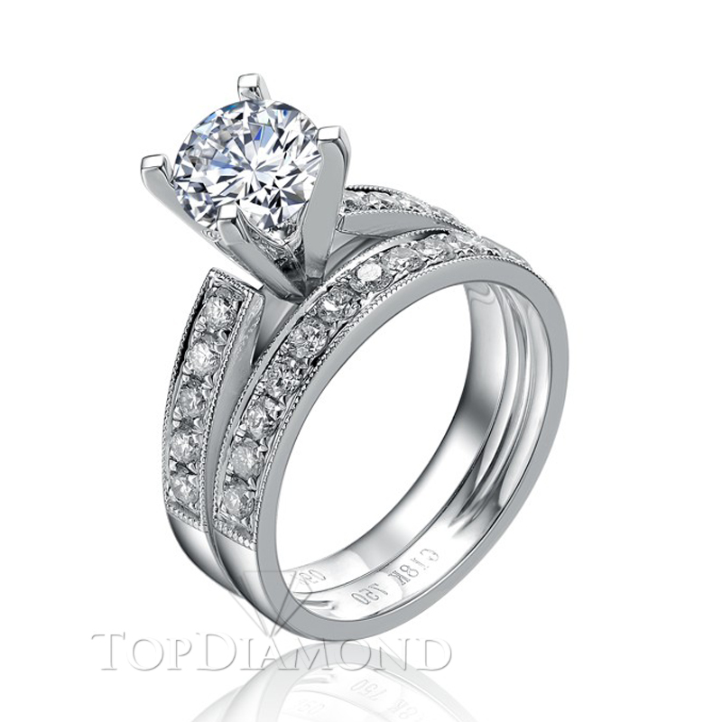 BD2809. Prong Diamond Engagement Ring Setting BD2809, Matching Sets. Engagement Ring Settings. Top Diamonds & Jewelry
