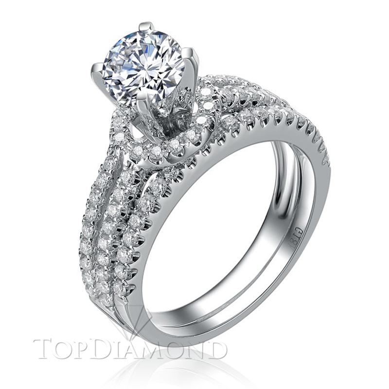 BD2812. Prong Diamond Engagement Ring Setting BD2812, Matching Sets. Engagement Ring Settings. Top Diamonds & Jewelry