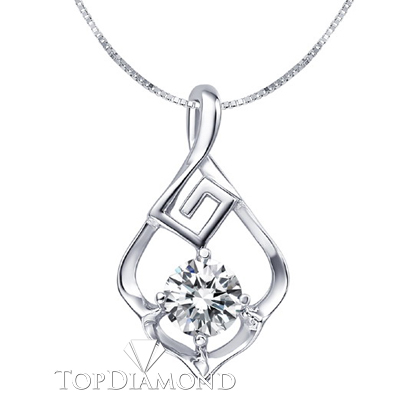 White gold pendant white gold settings for pendants white gold diamond pendant setting p1625 diamond pendants necklaces mozeypictures Choice Image