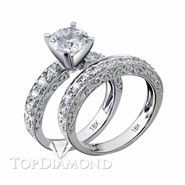 Diamond Engagement Set Mounting Style BD5098. Diamond Engagement Ring Setting & Wedding Band Set BD5098, Matching Sets. Engagement Ring Settings. Top Diamonds & Jewelry