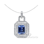 Blue Sapphire Pendant P0834. Blue Sapphire Pendant P0834, Gemstone Pendants. Gemstone Jewelry. Top Diamonds & Jewelry
