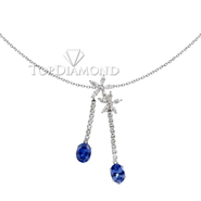 Blue Sapphire Pendant P0925. Blue Sapphire Pendant P0925, Gemstone Pendants. Gemstone Jewelry. Top Diamonds & Jewelry