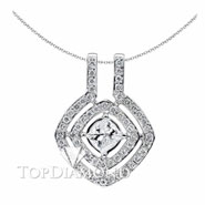 18K White Gold Fashion Pendant P1042. 18K White Gold Fashion Pendant P1042, Fashion Pendants. Necklaces & Pendants. Top Diamonds & Jewelry