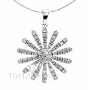 18K White Gold Fashion Pendant P1286. 18K White Gold Fashion Pendant P1286, Fashion Pendants. Necklaces & Pendants. Top Diamonds & Jewelry