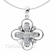 18K White Gold Fashion Pendant P1233 . 18K White Gold Fashion Pendant P1233, Fashion Pendants. Necklaces & Pendants. Top Diamonds & Jewelry