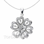 18K White Gold Fashion Pendant P1287. 18K White Gold Fashion Pendant P1287, Fashion Pendants. Necklaces & Pendants. Top Diamonds & Jewelry