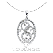 18K White Gold Fashion Pendant P1288. 18K White Gold Fashion Pendant P1288, Fashion Pendants. Necklaces & Pendants. Top Diamonds & Jewelry