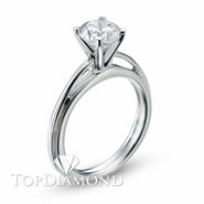 Classic Solitaire Engagement Ring Setting Style B1687. Classic Solitaire Engagement Ring Setting Style B1687, Traditional Solitaires. Engagement Ring Settings. Top Diamonds & Jewelry