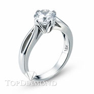 Classic Solitaire Engagement Ring Setting Style B1698. Classic Solitaire Engagement Ring Setting Style B1698, Traditional Solitaires. Engagement Ring Settings. Top Diamonds & Jewelry