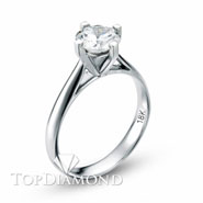 Classic Solitaire Engagement Ring Setting Style B1714. Classic Solitaire Engagement Ring Setting Style B1714, Traditional Solitaires. Engagement Ring Settings. Top Diamonds & Jewelry