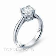 Classic Solitaire Engagement Ring Setting Style B1736. Classic Solitaire Engagement Ring Setting Style B1736, Traditional Solitaires. Engagement Ring Settings. Top Diamonds & Jewelry