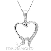 18K White Gold Fashion Pendant P1309. 18K White Gold Fashion Pendant P1309, Fashion Pendants. Necklaces & Pendants. Top Diamonds & Jewelry