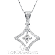 18K White Gold Fashion Pendant P1314. 18K White Gold Fashion Pendant P1314, Fashion Pendants. Necklaces & Pendants. Hung Phat Diamonds & Jewelry