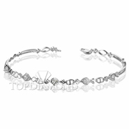 Diamond 18K White Gold Bracelet Setting L1717. Diamond 18K White Gold Bracelet Setting L1717, Diamond Bracelets. Bracelets. Top Diamonds & Jewelry