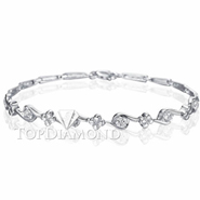 Diamond 18K White Gold Bracelet Setting L1716. Diamond 18K White Gold Bracelet Setting L1716, Diamond Bracelets. Bracelets. Top Diamonds & Jewelry