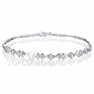 Diamond 18K White Gold Bracelet L1719. Diamond 18K White Gold Bracelet L1719, Diamond Bracelets. Bracelets. Top Diamonds & Jewelry