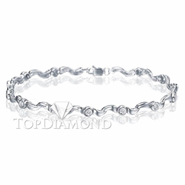 Diamond 18K White Gold Bracelet L1733. Diamond 18K White Gold Bracelet L1733, Diamond Bracelets. Bracelets. Top Diamonds & Jewelry