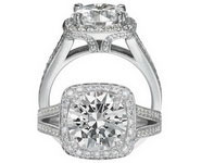 Ritani Bella Vita Engagement Ring Setting – 1R3152KR-$1000 GIFT CARD INCLUDED WITH PURCHASE.