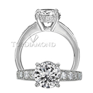 Ritani Bella Vita Engagement Ring Setting – 1R1972CR-$300 GIFT CARD INCLUDED WITH PURCHASE. Ritani Engagement Ring Setting 1R1972CR-$300 GIFT CARD INCLUDED WITH PURCHASE, Engagement Rings. Ritani. Top Diamonds & Jewelry
