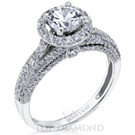 Scott Kay Classic Diamond Engagement Ring Setting M2310R507 - $700 GIFT CARD INCLUDED WITH PURCHASE.