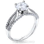 Scott Kay Classic Diamond Engagement Ring Setting M2429R510 - $500 GIFT CARD INCLUDED WITH PURCHASE.