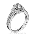 Scott Kay Classic Diamond Engagement Ring Setting M1613R310 - $700 GIFT CARD INCLUDED WITH PURCHASE.