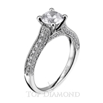 Scott Kay Classic Diamond Engagement Ring Setting M1617R310 - $500 GIFT CARD INCLUDED WITH PURCHASE.
