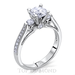 Scott Kay Classic Diamond Engagement Ring Setting M1669R310 - $500 GIFT CARD INCLUDED WITH PURCHASE.