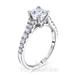 Scott Kay Classic Diamond Engagement Ring Setting M1693R310 - $300 GIFT CARD INCLUDED WITH PURCHASE.