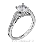 Scott Kay Classic Diamond Engagement Ring Setting M1724R310 - $500 GIFT CARD INCLUDED WITH PURCHASE.