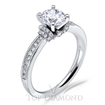 Scott Kay Classic Diamond Engagement Ring Setting M2089R310 - $300 GIFT CARD INCLUDED WITH PURCHASE.