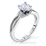 Scott Kay Classic Diamond Engagement Ring Setting M2092R310 - $300 GIFT CARD INCLUDED WITH PURCHASE.