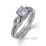 Simon G Engagement Ring Setting MR1900-$100 GIFT CARD INCLUDED WITH PURCHASE.