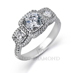 Simon G Engagement Ring Setting MR2080-$500 GIFT CARD INCLUDED WITH PURCHASE.
