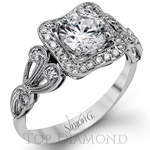 Simon G Engagement Ring Setting TR549-$300 GIFT CARD INCLUDED WITH PURCHASE.