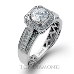 Simon G Engagement Ring Setting NR453-$500 GIFT CARD INCLUDED WITH PURCHASE.
