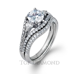 Simon G Engagement Ring Setting LP1923-$500 GIFT CARD INCLUDED WITH PURCHASE.