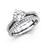 Simon G Engagement Ring Setting MR1511-$100 GIFT CARD INCLUDED WITH PURCHASE.