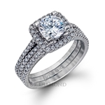 Simon G Engagement Ring Setting TR128-$300 GIFT CARD INCLUDED WITH PURCHASE.