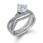 Simon G Engagement Ring Setting MR1394-$100 GIFT CARD INCLUDED WITH PURCHASE.