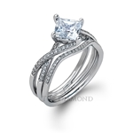 Simon G Engagement Ring Setting MR1395-$100 GIFT CARD INCLUDED WITH PURCHASE.