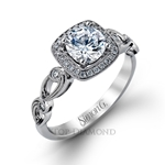 Simon G Engagement Ring Setting TR526-$100 GIFT CARD INCLUDED WITH PURCHASE.
