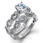 Simon G Engagement Ring Setting TR473-$100 GIFT CARD INCLUDED WITH PURCHASE.