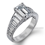 Simon G Engagement Ring Setting MR2353-$1000 GIFT CARD INCLUDED WITH PURCHASE.