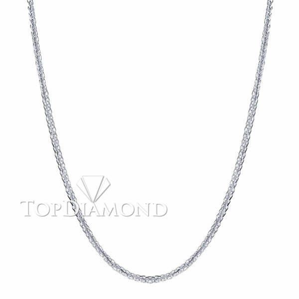18K White Gold Chain C1616. 18K White Gold Chain C1616, Chains. Necklaces & Pendants. Top Diamonds & Jewelry