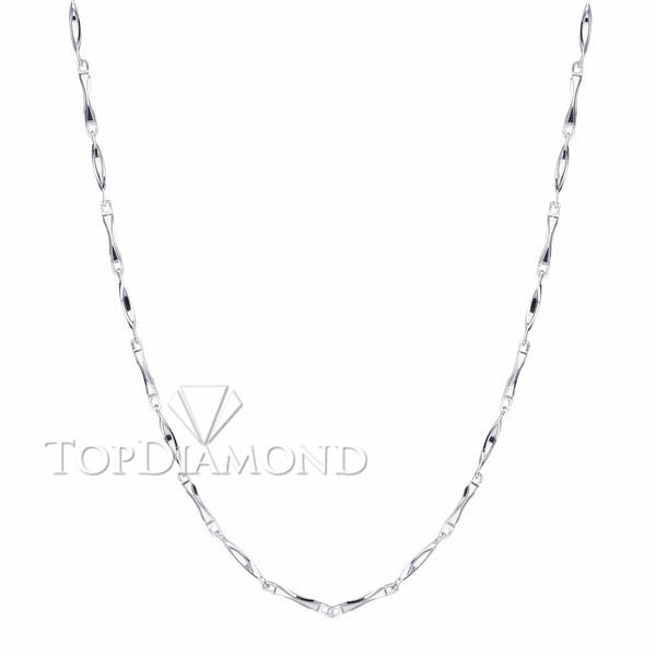 18K White Gold Chain C1617. 18K White Gold Chain C1617, Chains. Necklaces & Pendants. Top Diamonds & Jewelry