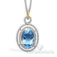 Simon G TP143 Gemstone Pendant - $1000 GIFT CARD INCLUDED WITH PURCHASE. Simon G TP143 Gemstone Pendant - $1000 GIFT CARD INCLUDED WITH PURCHASE, Pendants. Simon G. Top Diamonds & Jewelry