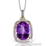 Simon G TP269 Gemstone Pendant - $1000 GIFT CARD INCLUDED WITH PURCHASE. Simon G TP269 Gemstone Pendant - $1000 GIFT CARD INCLUDED WITH PURCHASE, Pendants. Simon G. Top Diamonds & Jewelry